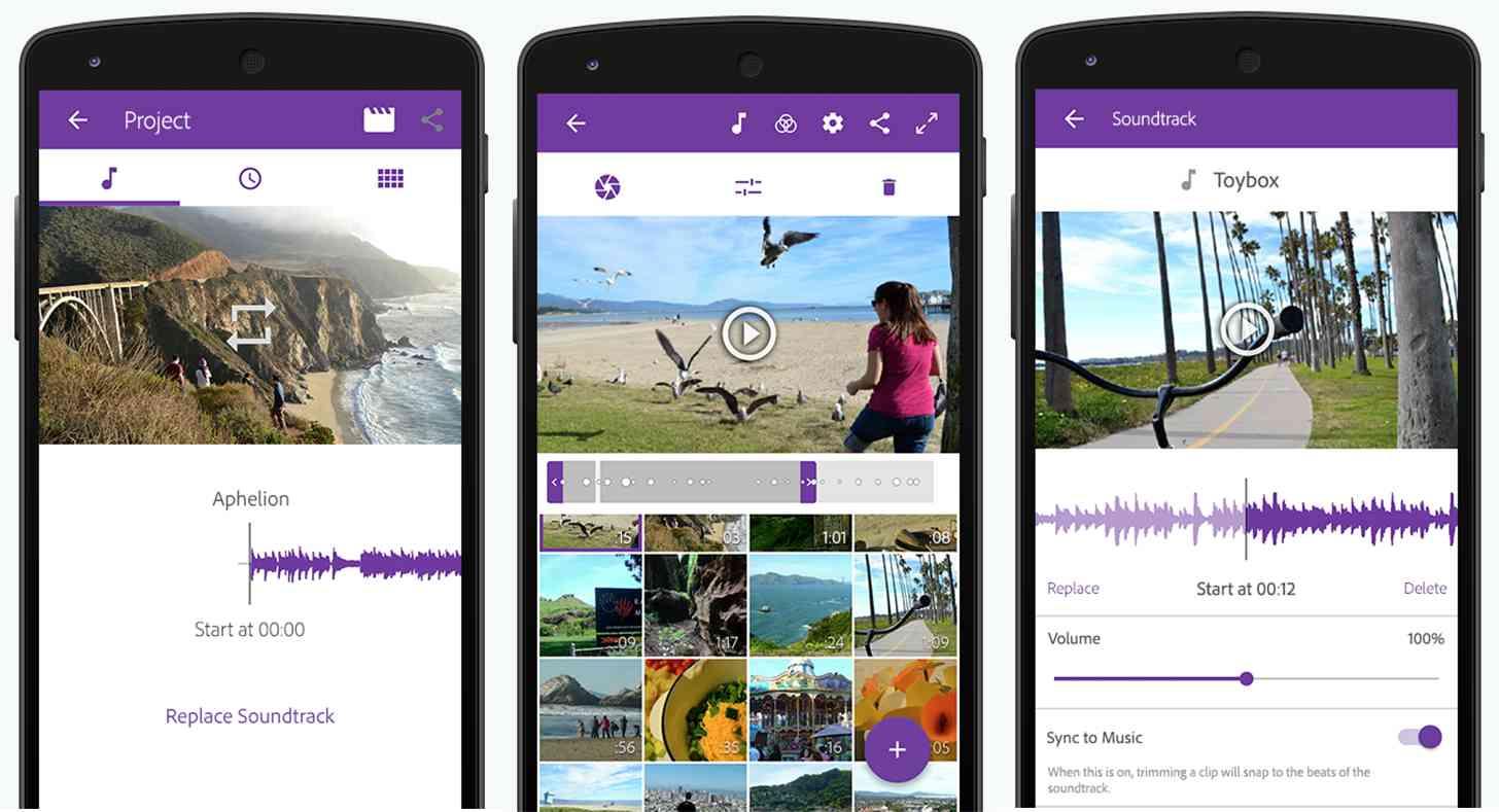 Best video editing app called adobe premiere clip