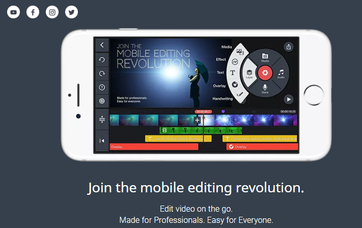 KineMaster Video Editing App for Best Quality