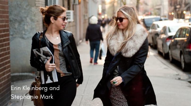 Erin Kleinberg and Stephanie Mark fashion entrepreneurs