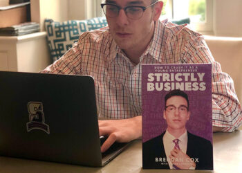 Brendan-Cox-aside-his-bookStrictly-Business-How-to-Crush-it-as-a-Young-Entrepreneur