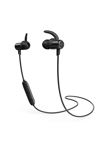 Bluetooth Headphones, Anker SoundBuds Slim Wireless Headphones, IPX7 Waterproof, 10H Playtime, Bluetooth 5.0, Magnetic Wireless Earbuds, Bluetooth Earbuds for Workout , Sports, Running, Gym
