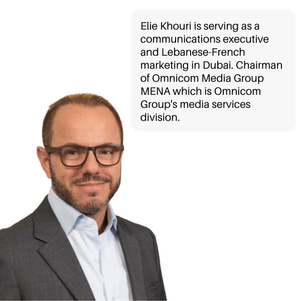 Elie Khouri Lebanese entrepreneur