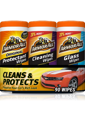 Armor All Premium Quality Cleaning Wipes