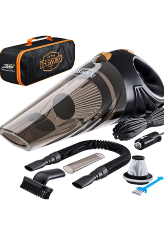 ThisWorx Auto Accessories Kit for Detailing and Cleaning Car Interior