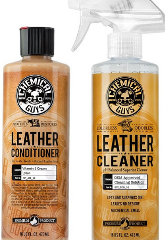 Chemical Guys Leather Cleaning Product for Cars