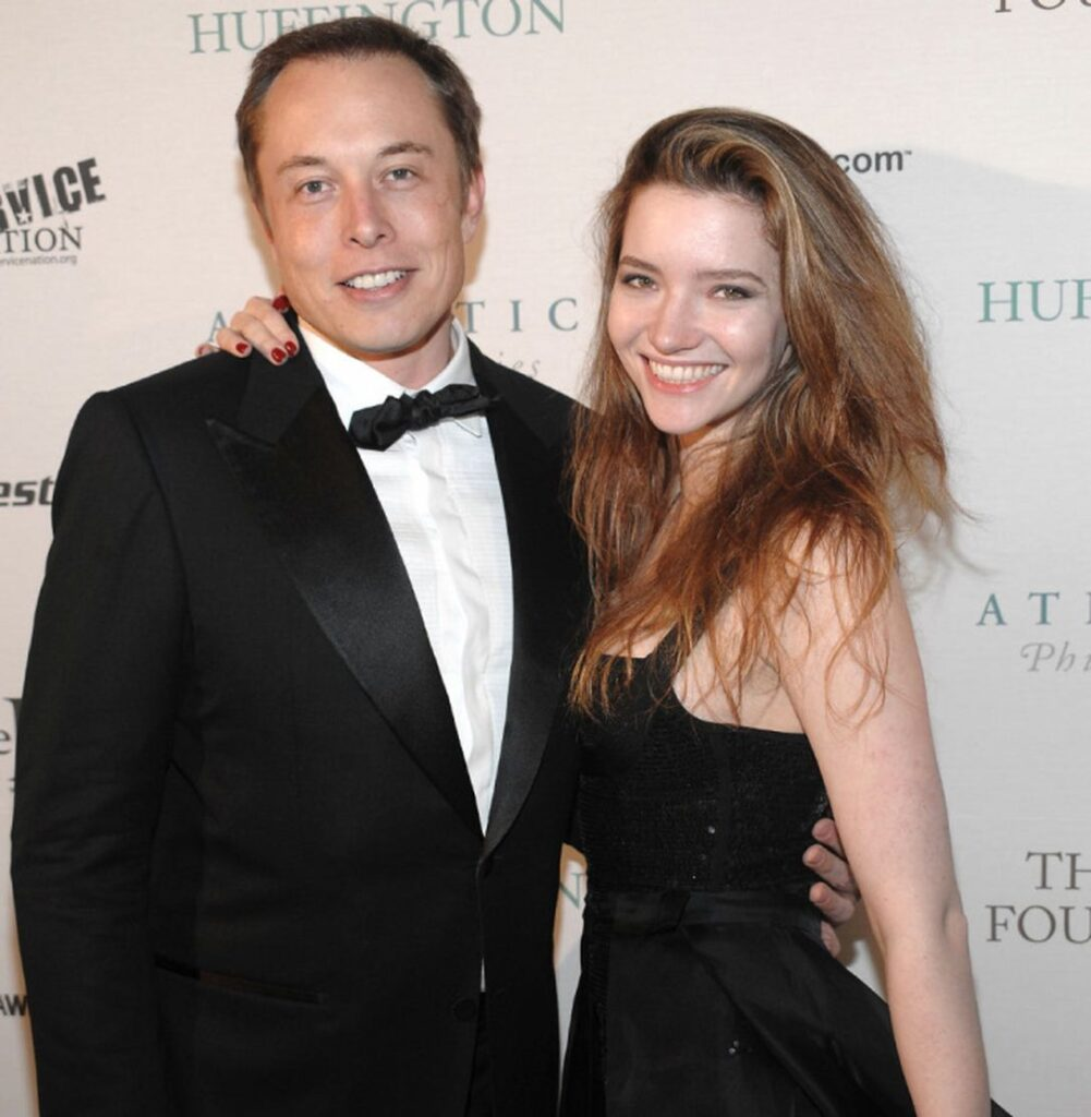 Justine Musk Relationship with Elon Musk